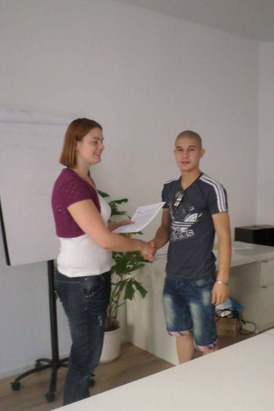 Еразъм + 2014-2015 - ПГТТ Христо Ботев - Смолян