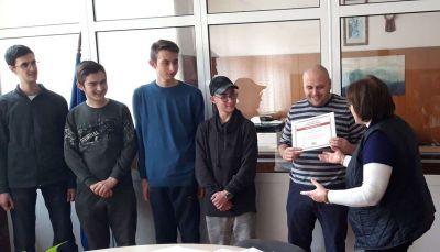 Първенци в областта на национален конкурс за STEM науки в България. 7
