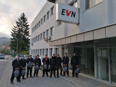 Практическо обучение в реална работна среда в EVN клон Смолян - ПГТТ Христо Ботев - Смолян